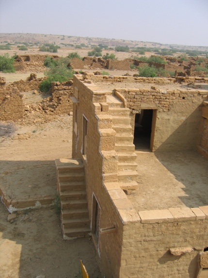 Khuldera, an abandoned village in the Thar