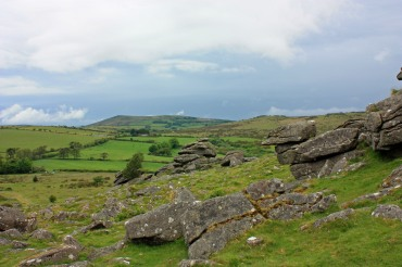 Looking East from Hound tor