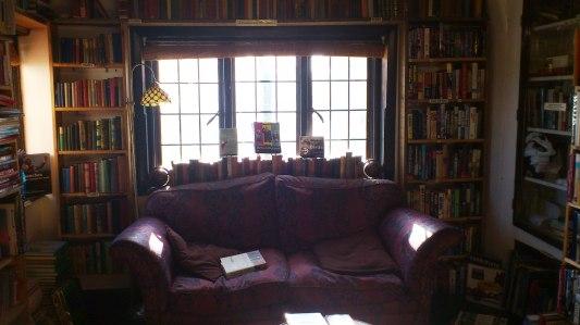Upstairs at Book Cycle