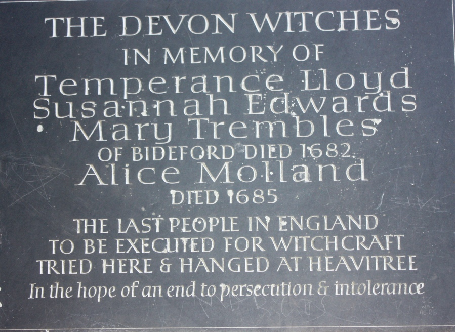 Witches Trial Sign