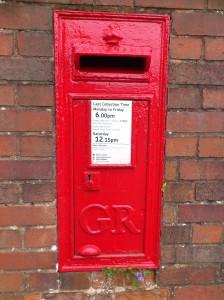 GR Post box Heavitree