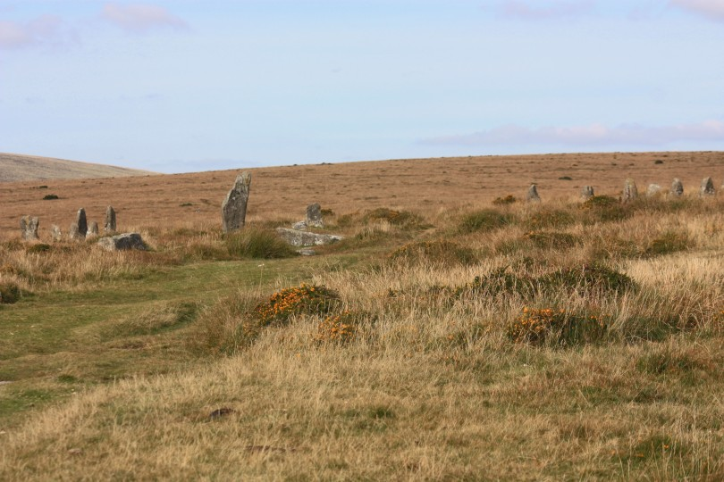 The edge of Scorhill Circle