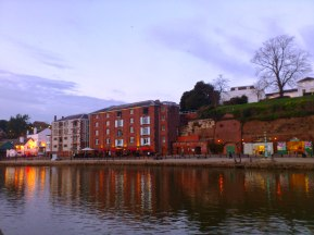 Quayside mirrored