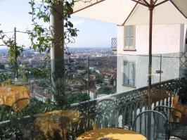 Bergamo terrace cafe