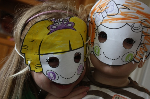 Masks by Louisa
