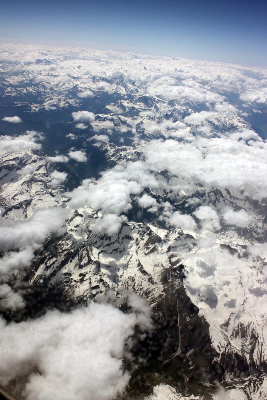 Alpine sky
