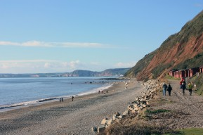 West towards Sidmouth