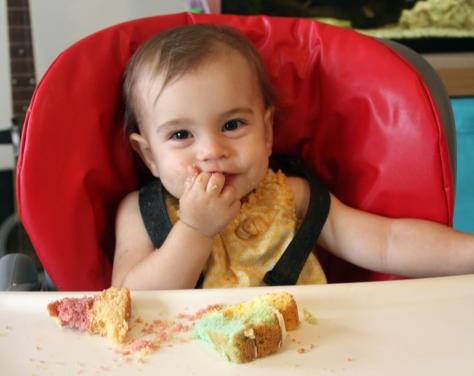 Yummy thanks mummy!