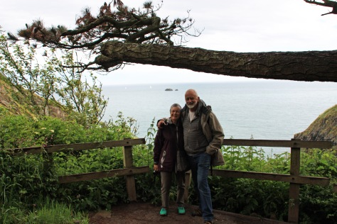 Christine and Stuart at Coleton Fishacre