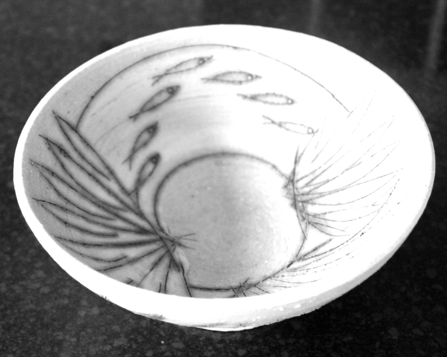 A bowl by my favourite ceramic artist Laurel Keeley