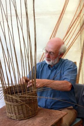 Willow basket making