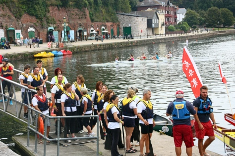 I found the Royal Devon & Exeter Dragon Boat team!