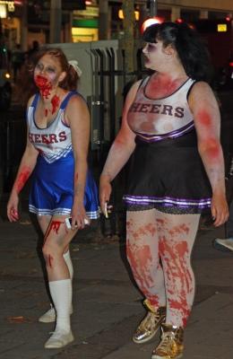 Exeter zombie walk