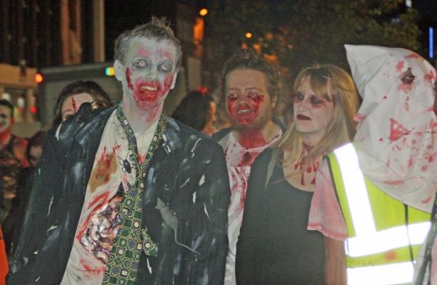 Exeter zombie walk 2014