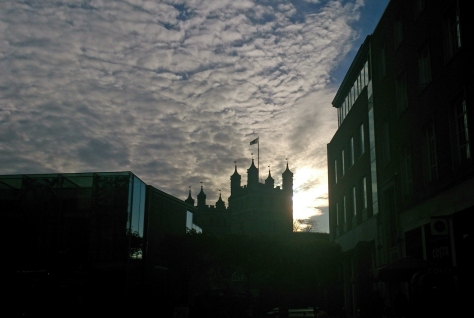 St Peters sky