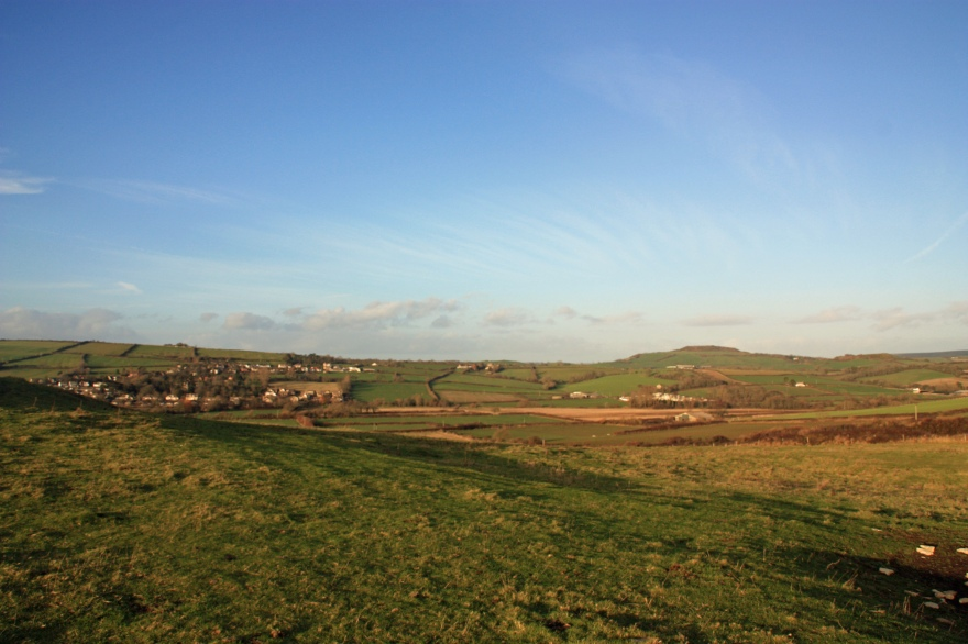 Countryside around Bridport