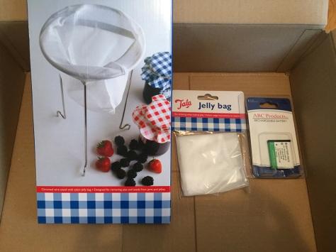 My three small items!