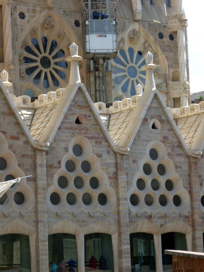 Sagrada Familia from the bus