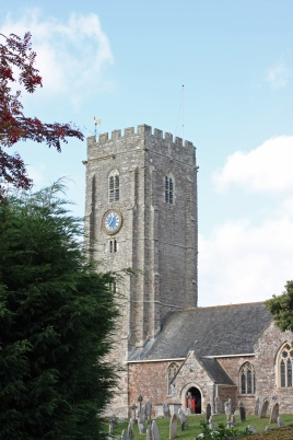 St Swithuns' Church, Woodbury.