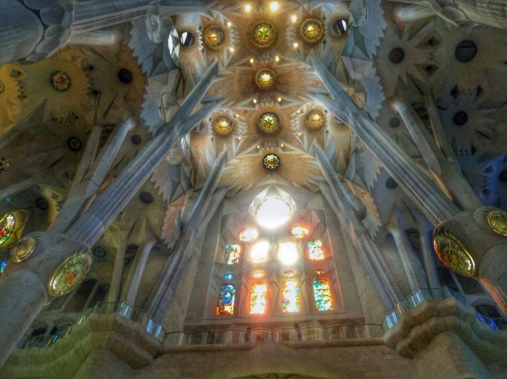 A Gaudi Version Of Ornate Lucid Gypsy