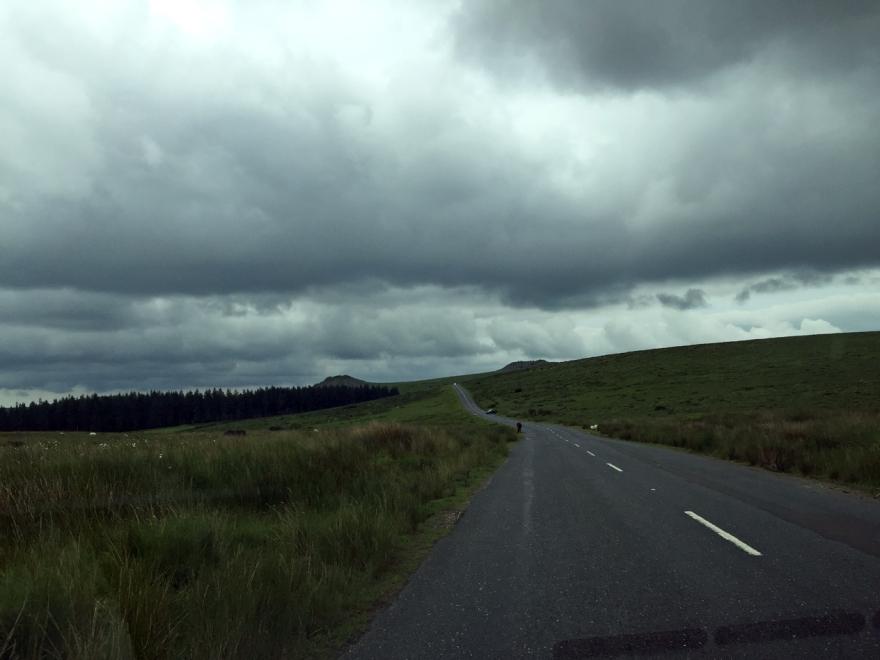 Dartmoor road