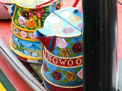 Narrow boat art