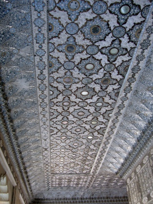 Ceiling in the hall of mirrors