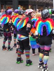 Let's skate a rainbow