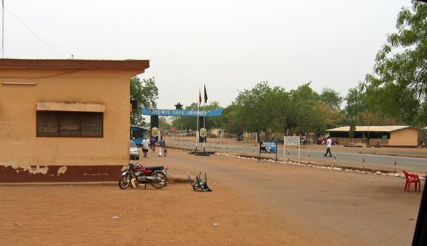 Burkino Faso Frontier